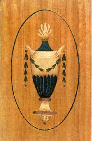 Inlay No 19 Upright Urn